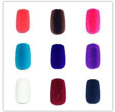 12 selbstklebende Kunstnägel Pre-Glued Velvet / Plüsch Nails Versch. Farbe FL-10