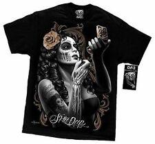 David Gonzales Artwork Dga Skin Deep West Coast Beauty Mexican Mens T Tee Shirt
