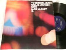 WILLIS JACKSON JACK McDUFF Together Again RVG LP Bill Jennings Tommy Potter