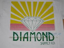 Diamond Supply Co Shining Tee Shirt OG Script Large L Un-Polo Wiz Jetlife White