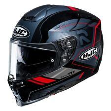 HJC rpha 70 grafica coptic nero rosso casco integral visiera trasparente occhial