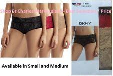 b8b05b280854 DKNY Intimates Women's Signature Lace Bikini Panties NIB - 3 Pack Small /  Medium