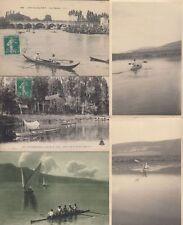 AVIRON ROWING SPORT 23 Cartes Postales 1900-1940