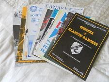 CHELSEA FRIENDLYS EUROPEAN  AND TESTIMONIAL PROGRAMMES 1968 - 06