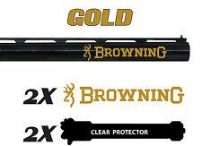 Adesivo decalcomania in vinile Browning per Fucile/Fucile/Custodia/Pistola/Sicura Auto