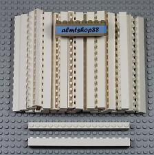 LEGO - 1x16 White Bricks Blocks #2465 Wall Beam City Castle Town Lot Bulk