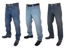 Jeans Boston pour homme bleu clair mid-blue, dirtywash. taille 60 à 68. Jambe 30 32 ou 34