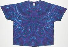 Adult TIE DYE Purple Element short sleeved T Shirt 5X 6X hippie grateful dead gd