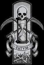 FATUM Babydoll T-Shirt fate memento mori death doom apocalypse grim reaper