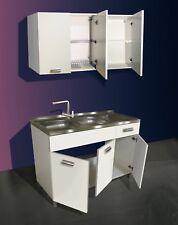 Kit Mini cucina 120 cm REVERSIBILE - Olmo o bianco- Compra dal produttore!