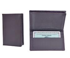 High Quality Men Leather Credit Card Holder ID Card Holder Wallet Billfold Purse