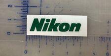 "Nikon Vinyl Decal 2.5"" 3.5"" 4.5"" 5.5"" Camera Pix Laptop Computer Auto Window Cup"