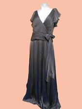 NWT TADASHI SHOJI Brown CHIFFON FLUTTER SLEEVES Gown SIZE - 8 10 12 14 16