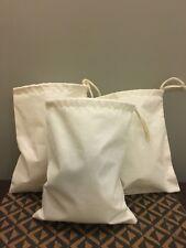 "12""x20"" Cotton Single Drawstring Muslin Bags (Natural Color)"