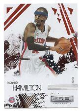 Richard Hamilton Rookie & Stars Card, Gold Holofoil, #25, Serial # 133 of 250