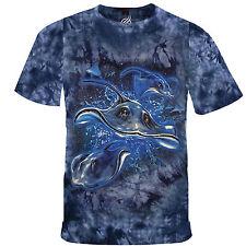 Stingray Sting Ray Ocean Florida Fish School Swarm Shark Tshirt  Tee Shirt RM26T
