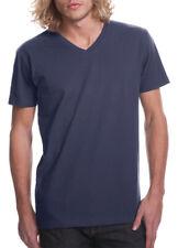 Next Level Apparel Men's Short Sleeve Fitted V-Neck T-Shirt, Multi Packs. N3200