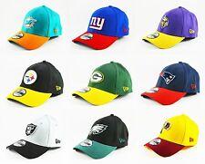 NEW NFL New Era 39Thirty Flex Fit Cap Hat - Multiple Football Teams!