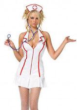 Head Nurse Costume, Leg Avenue 83050, Adult Women's 3 Piece, Size M/L