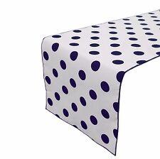 Zen Creative Designs Premium Cotton Table Top Runner Polka Dots / Spots