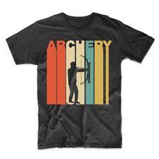 Vintage Retro 1970's Style Archery Bow And Arrow Archer T-Shirt