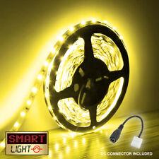 YELLOW 5M-10M LED Light Strip Tape XMAS Cabinet Kitchen Lighting WATERPROOF 12V