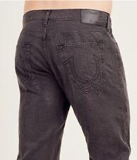 $229 Jacquard True Religion Men Jeans Slim 31 32 34 36 38 Gray Black