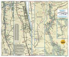 Sealake South Carolina: Little River Neck to Georgetown Fishing Map Chart Print