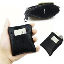 Coin Purse Mens Mini Short Wallet Bags Black Key Credit Card Holder Business