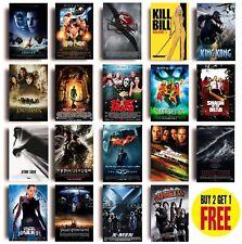 Classic 2000s Movie Posters A3 Size Photo Print Film Cinema Wall Decor Fan Art