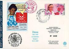 """PE360 FDC BOSNIE """"Lady DIANA - Lutte contre les mines en Bosnie"""" 11-1997"""