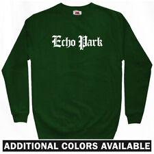 Echo Park Gothic Sweatshirt Crewneck - Los Angeles LAX Lakers Dodgers  Men S-3XL
