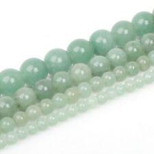Lot de 10 perle en verre lampwork 14mm vert bouteille,olive