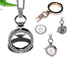 COIN MEDAILLON +++ Kette Anhänger silber Halter Einleger Münze Halskette AUSWAHL