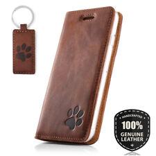 SURAZO® SMART MAGNET Echtes Ledertasche Handy Hülle Wallet Case mit RFID protect