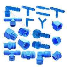 Tubo montaje de plástico de nylon TEFEN púas Hosetail Carpintero Tubería Conector Azul