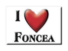 SOUVENIR ESPAÑA LA RIOJA LA RIOJA IMAN MAGNET SPAIN CORAZON I LOVE FONCEA (LO)--