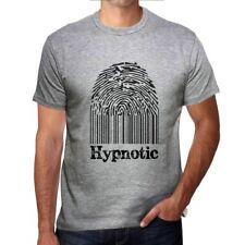 Hypnotic Fingerprint, camiseta hombre, huella dactilar, regalo 00309