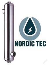 Intercambiador de calor para piscina spa NORDIC TEC B-ti Serie 16-175kW TITANIO
