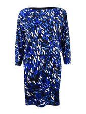 Nine West Women's Printed Blouson Jersey Dress