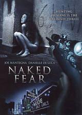 Naked Fear (DVD, 2008) RARE DANIELLE DE LUCA HORROR THRILLER BRAND NEW