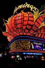 Flamingo hotel neon signs Las Vegas Nevada USA photograph picture poster print
