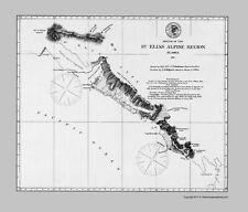 Old State Map - St Elias Alpine Region Alaska - USCS 1875 - 23 x 27.00