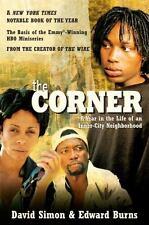 THE CORNER by David Simon, Edward Burns FREE SHIPPING paperback book inner city