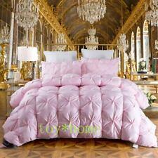 Goose Down Duvet Thick Soft Warm Blanket Luxury Quilt Comforter Bedding Filler
