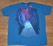Apt 9  Graphic Tee  Short Sleeve T-Shirt Crew Neck Space Totem
