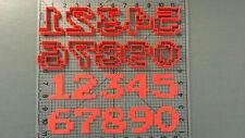 Pixel Font Number Cookie Cutter Set