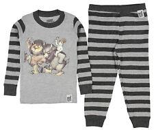 Intimo Toddler Boys' Where The Wild Things Are Pajamas Book Sleepwear Pjs