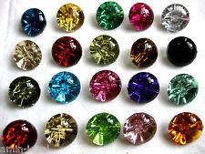10 große Knöpfe,Halbkugel, viele Farben,Farbe wählbar,24mm, Kunststoff  K37