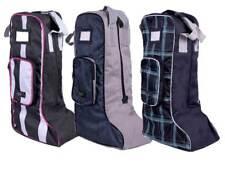 Stiefeltasche, Reitstiefeltasche, wasserabweisend, 3 verschiedene Designs